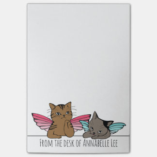 Notas Post-it® Gatos del ángel