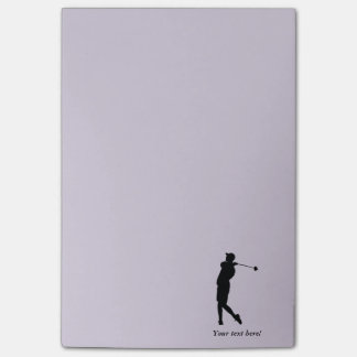 Notas Post-it® Golfista