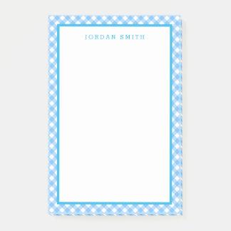 Notas Post-it® Guinga de los azules cielos con la frontera