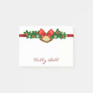 Notas Post-it® Guirnalda personalizada Belces del navidad del día