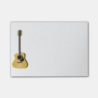 Notas Post-it® Guitarra acústica
