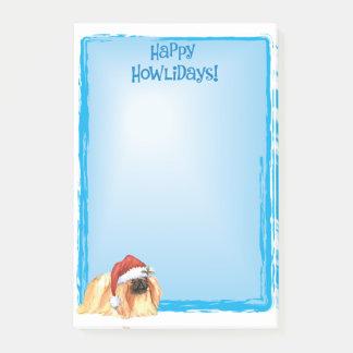Notas Post-it® Howlidays feliz Pekingese