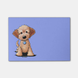 Notas Post-it® KiniArt mini Goldendoodle