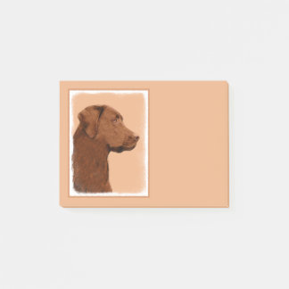 Notas Post-it® Labrador retriever (chocolate)