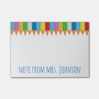 Notas Post-it® Lápices coloreados 2