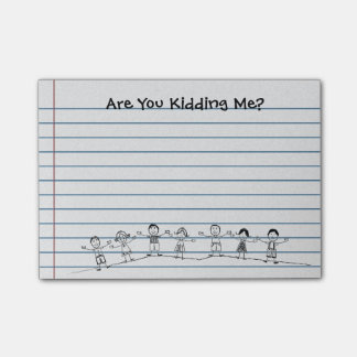 Notas Post-it® ¿Lindo es usted que me embroma? Post-it del
