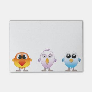 Notas Post-it® Little Birds
