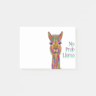 Notas Post-it® Llama