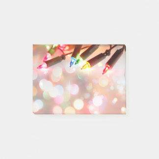 Notas Post-it® Luces multicoloras del centelleo, por todo la