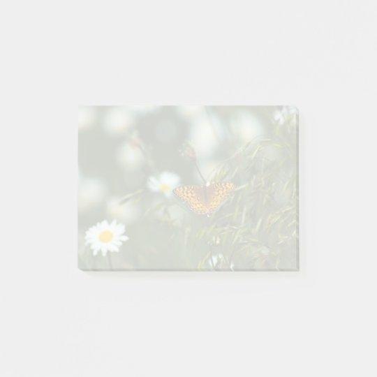 Notas Post-it® Mariposa pacífica del Fritillary