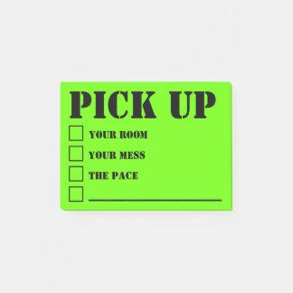 Notas Post-it® Mensajes 1 de la madre que regañan