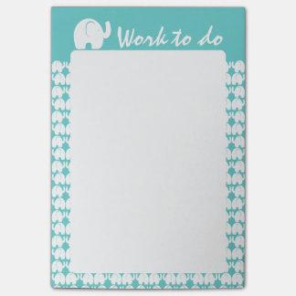 Notas Post-it® Modelo del elefante