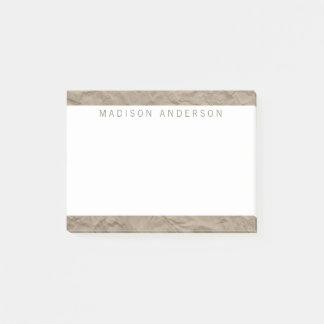 Notas Post-it® Moderno minimalista del papel el | de la textura