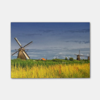 Notas Post-it® Molinoes de viento en Kinderdijk, Holanda, Países