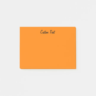 Notas Post-it® Naranja brillante