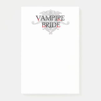 Notas Post-it® Novia del vampiro
