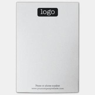 Notas Post-it® Oficina o logotipo o foto básico del negocio