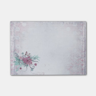 Notas Post-it® Oficina - primavera bonita (2) floral