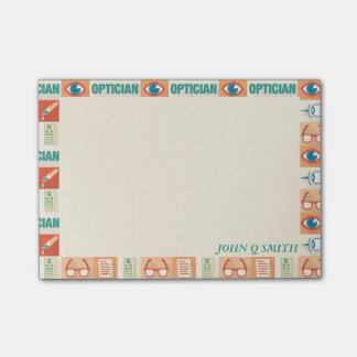 Notas Post-it® Óptico profesional•Personalizado