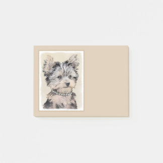 Notas Post-it® Perrito de Yorkshire Terrier