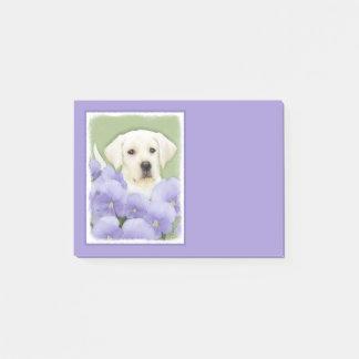 Notas Post-it® Perrito del labrador retriever