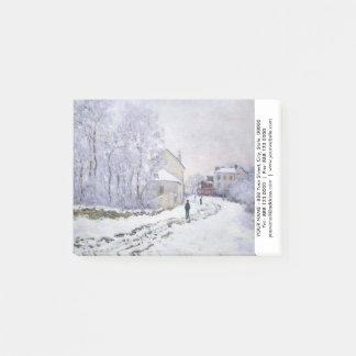 Notas Post-it® Personalizado con el post-it de Claude Monet