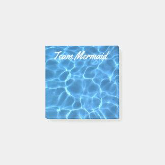 Notas Post-it® Piscina azul personalizada de la aguamarina