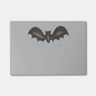 Notas Post-it® Post-it fantasmagóricos grises negros de Halloween