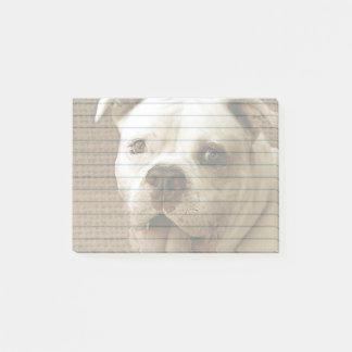 Notas Post-it® Poste-notas americanas del dogo