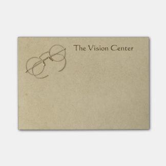 Notas Post-it® Práctica del oftalmólogo, del optometrista o del