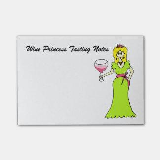 Notas Post-it® Princesa Tasting Notes del vino