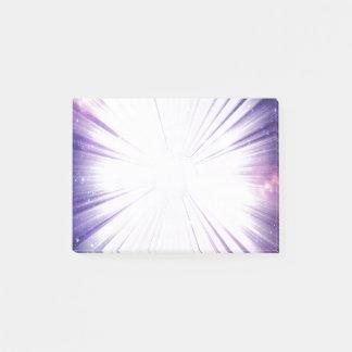 Notas Post-it® Púrpura galáctica