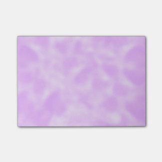 Notas Post-it® Púrpura y blanco abigarrados