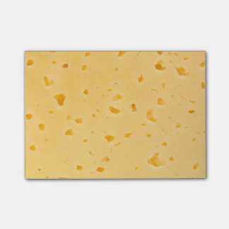 Notas Post-it® Queso