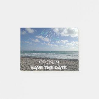 Notas Post-it® Reserva de Miami el post-it de la fecha