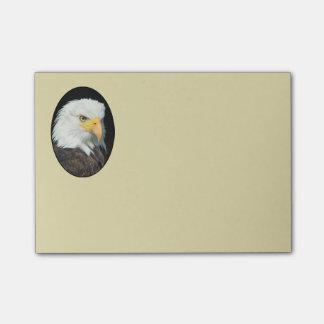 Notas Post-it® Retrato majestuoso de Eagle calvo