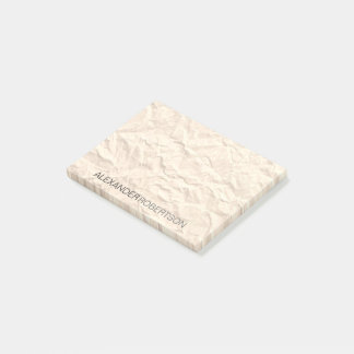 Notas Post-it® Rústico simple moderno minimalista de papel de la