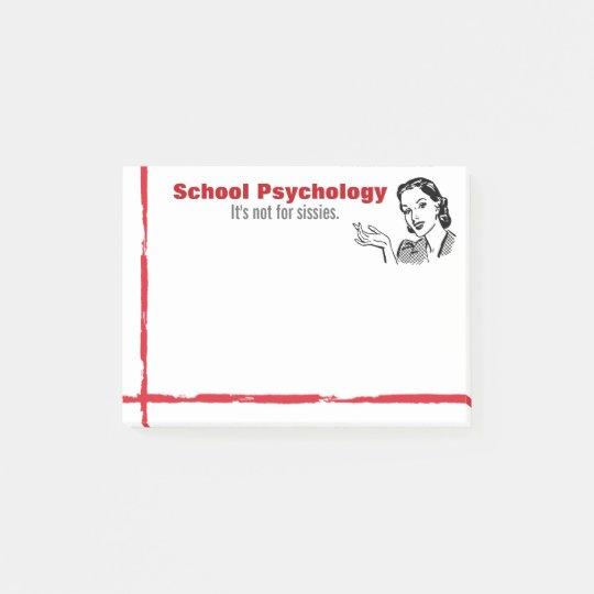 Notas Post-it® Sentido de la psicología de la escuela de las