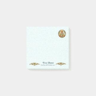 "Notas Post-it® St. Barbara (BK 001) 3"" x3"" (estilo #2)"