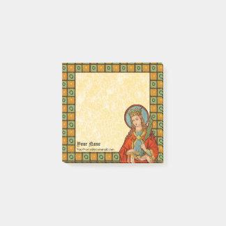 "Notas Post-it® St. Barbara (JP 01) 3"""" cuadrado x3"