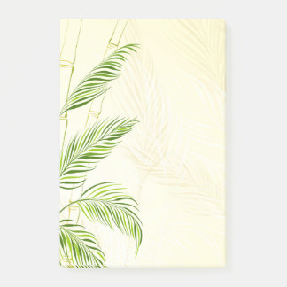 Notas Post-it® Tallos y hojas de bambú, por todo la impresión -