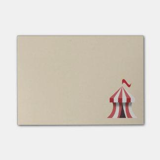 Notas Post-it® Tienda de circo