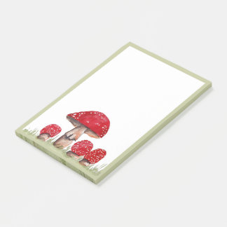 Notas Post-it® Toadstools