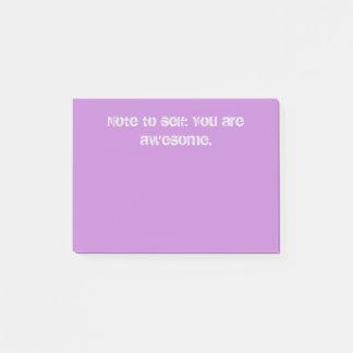 Notas Post-it® Usted es impresionante