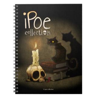 """Notebook """"Cat and Skull"""" Libro De Apuntes Con Espiral"""
