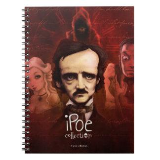 """Notebook """"iPoe Collection"""" Libros De Apuntes Con Espiral"""