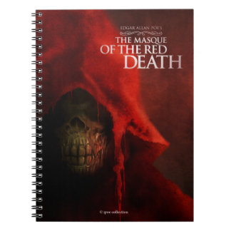 "Notebook ""The Masque of the Red Death"" Cuaderno"