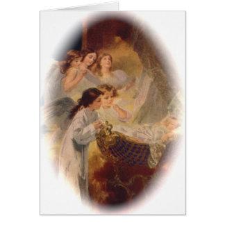 Notecard (cita): La dicha de la bendición Tarjeta Pequeña