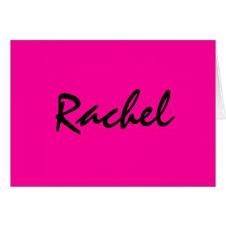 Notecard personalizado de las rosas fuertes tarjeta pequeña