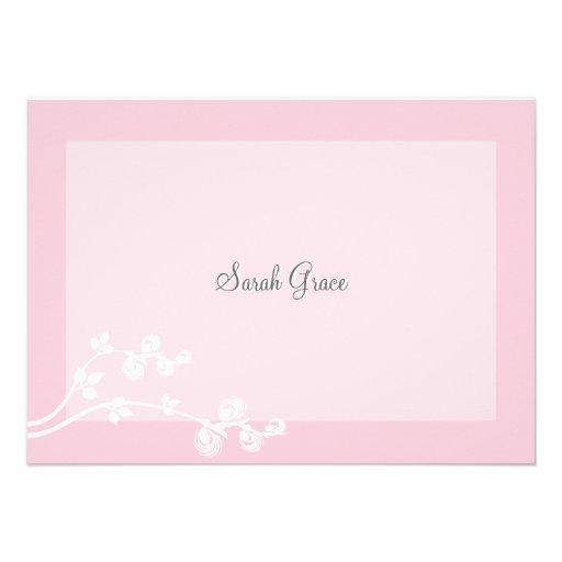 Notecard personalizado devoto invitacion personalizada